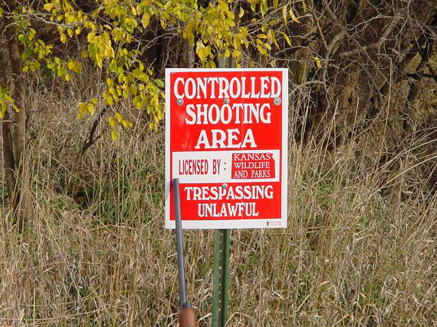 kansas controlled shooting area